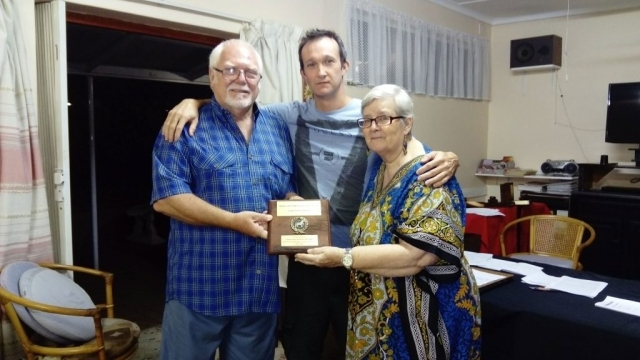 Lifetime Service Award was awarded to Jack and Denise Knight